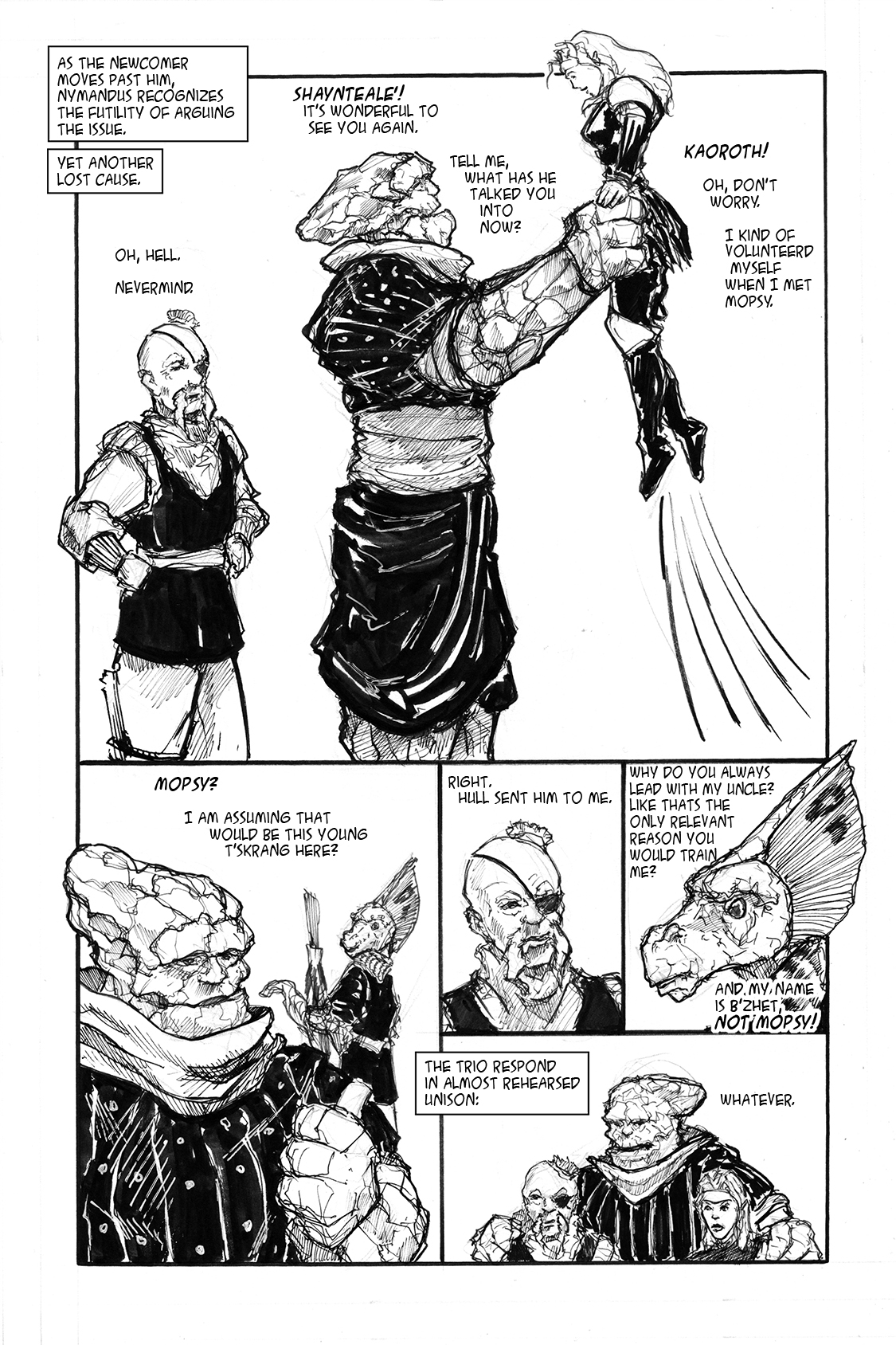 Champion's Challenge Vol 2 Pg 35