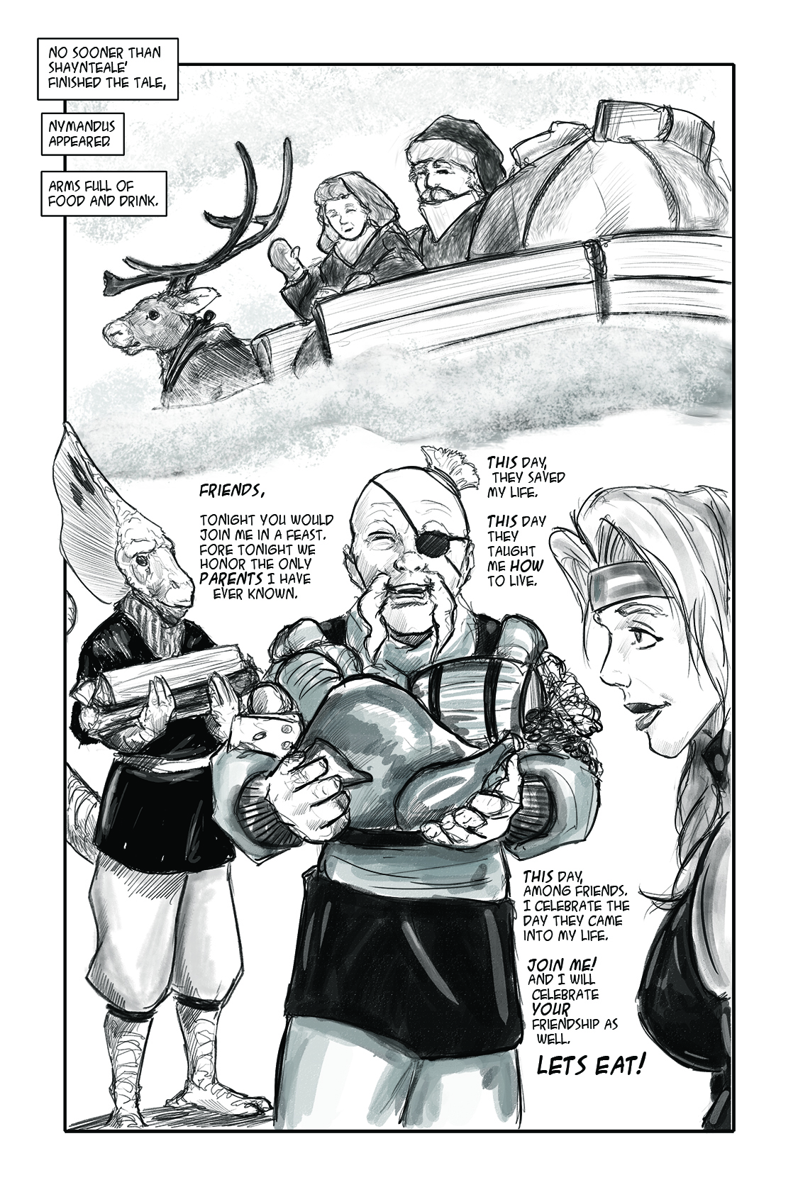 Champion's Challenge Holiday Annual Pg 6